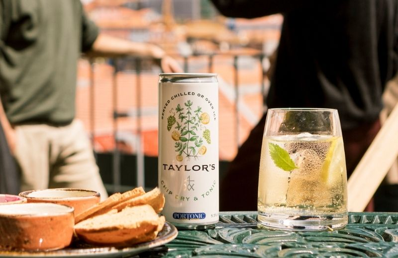 Taylor's Port announces the first ready-to-drink white Port & tonic in a  can. - Taylor's Port