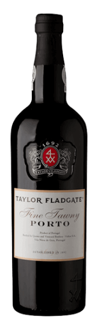 Bottle of Fine Tawny Port wine from Taylor Fladgate