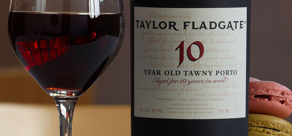 10 Year Old Tawny Port wine - Taylor Fladgate