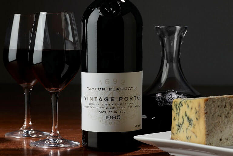 Taylor Fladgate Vintage Port and Cheeses