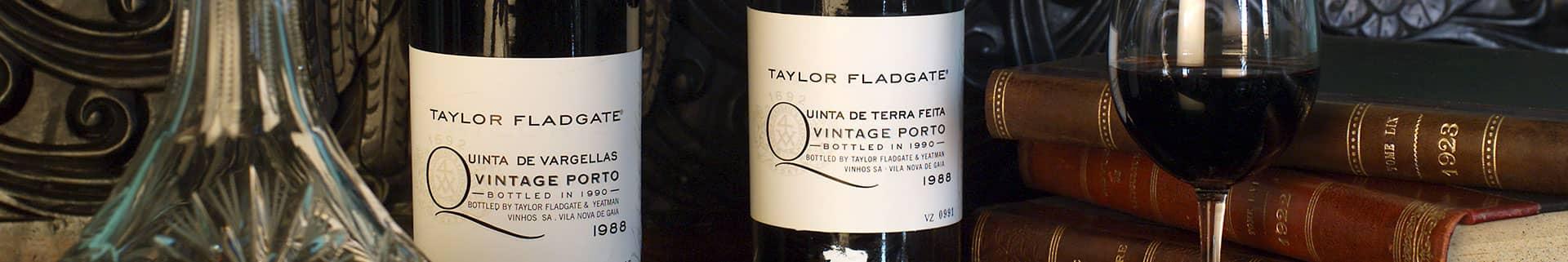 1988 Vintage Port: Vargellas and Terra Feita - Taylor Fladgate