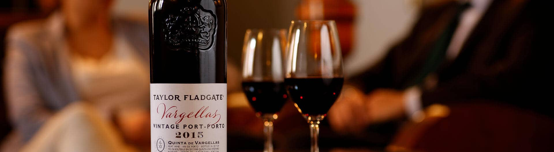 Quinta de Vargellas 2015 Vintage Port Wine bottle