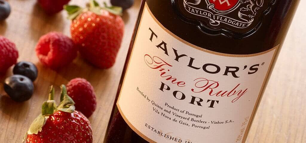 Fine Ruby Port wine - Taylor's
