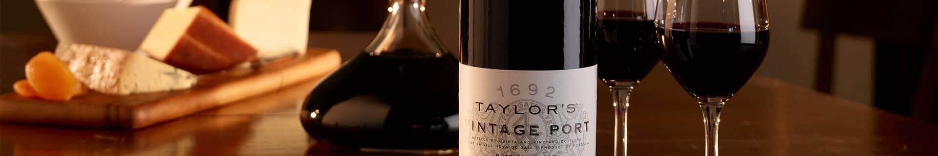 Klassischer Vintage Port - Taylor's