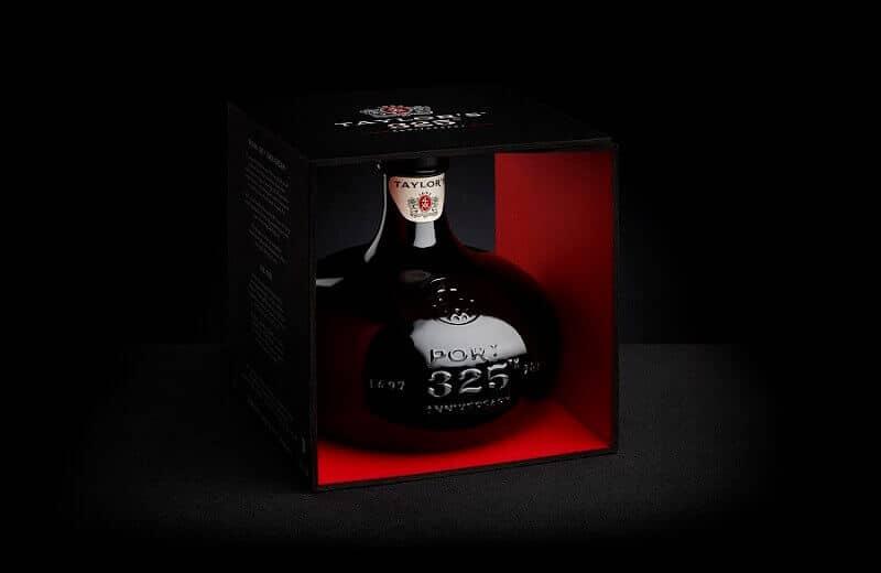 Taylor's 325th Anniversary bottle - Port wine