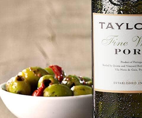 Pairing Port wine & Food: White Port - Taylor Fladgate
