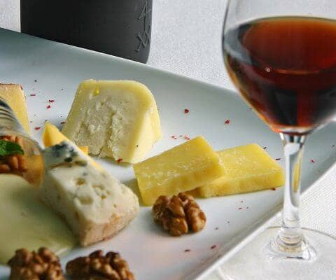 Port wine & Cheese