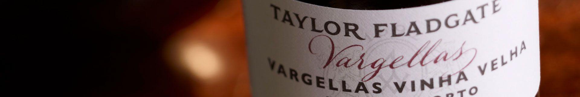 Vargellas Vinha Velha Vintage Port Wine - Taylor Fladgate