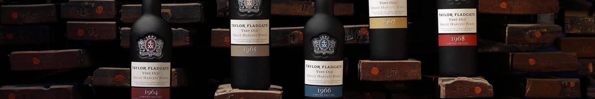 Single Harvest Port Wine bottles from Taylor Fladgate