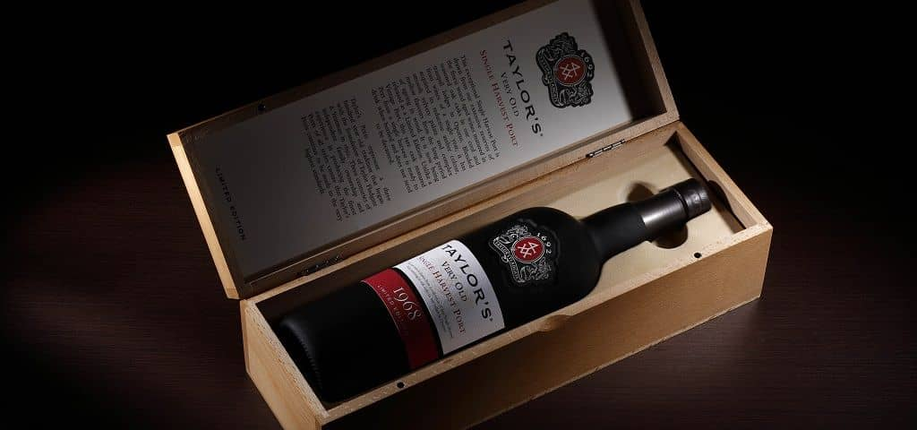Very rare Taylor's Single Harvest 1968 Port Wine