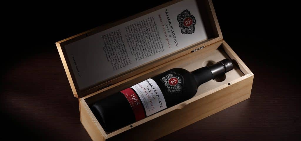 Very rare Taylor Fladgate Single Harvest 1968 Port Wine