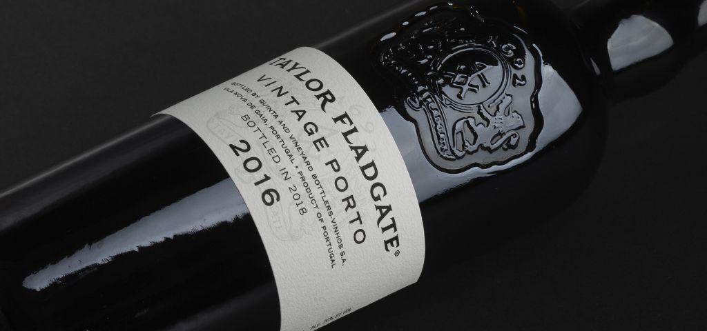 Bottle of Taylor Fladgate Port Vintage 2016