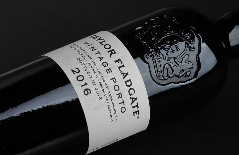 Bottle of Taylor Fladgate Port Vintage 2016
