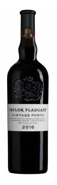 Bottle of Taylor Fladgate's 2016 Vintage Port