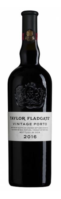 Bottle of Taylor Fladgate's 2016 Vintage Port