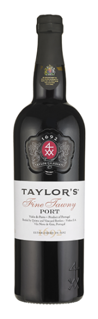 Bottle of Fine Tawny Port wine from Taylor's