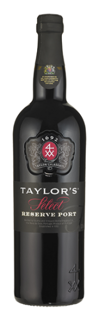 Bottle of Select Reserve Port wine from Taylor's