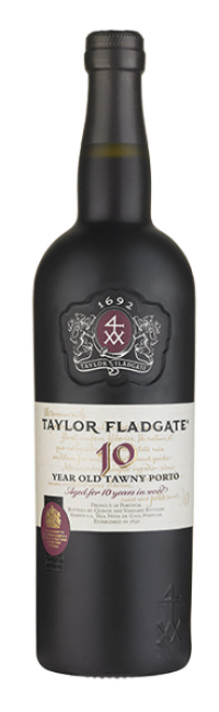 Bottle of 10 Year Old Tawny Port wine from Taylor Fladgate