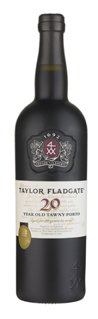 Bottle of 20 Year Old Tawny Port wine from Taylor Fladgate