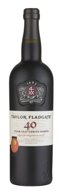 Bottle of 40 Year Old Tawny Port wine from Taylor Fladgate