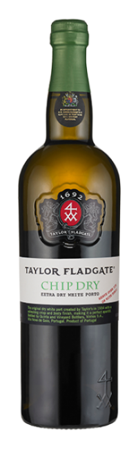 Bottle of Chip Dry White Port wine from Taylor Fladgate