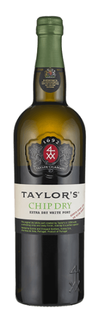 Botella de vino de Oporto Taylor's Blanco Chip Dry