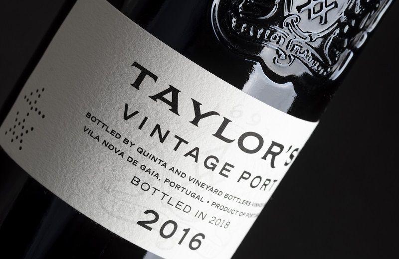 Taylor's acaba de anunciar que lanzará un clásico vino de Oporto Vintage  2016
