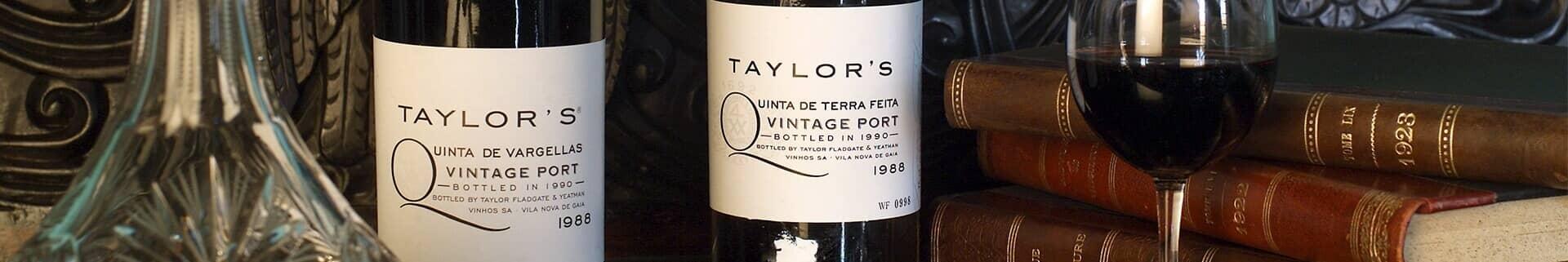 Vino de Oporto Vintage 1988: Vargellas y Terra Feita - Taylor's