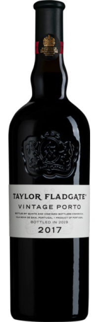 Bottle of Taylor Fladgate's 2017 Vintage Port