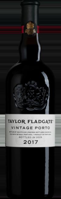 Bottle of Taylor Fladgate's 2017 Vintage Port