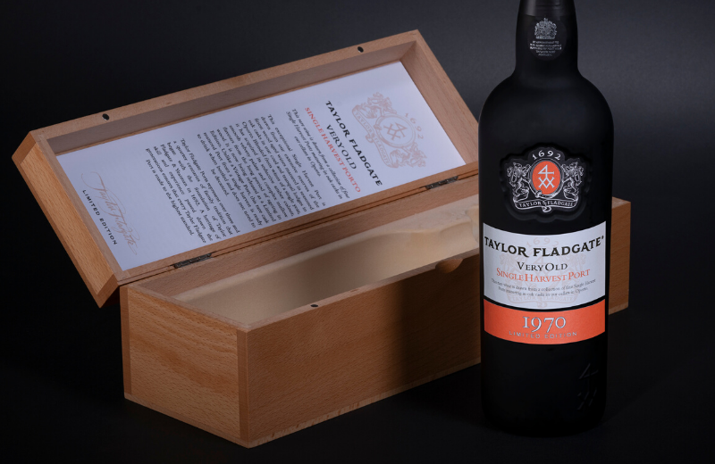 Taylor Fladgate Single Harvest 1970, the seventh in the series of limited edition 50 year old Port Wines, is a wonderful wine and an exquisite expression of the art of wood ageing, which Taylor Fladgate has refined over the centuries.