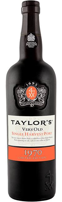 Taylor's Single Harvest 1970, le septième de la série de vins de Porto de 50 ans en édition limitée, est un vin...