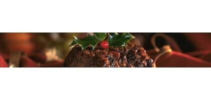 Christmas Pudding.Christmas Pudding With Port