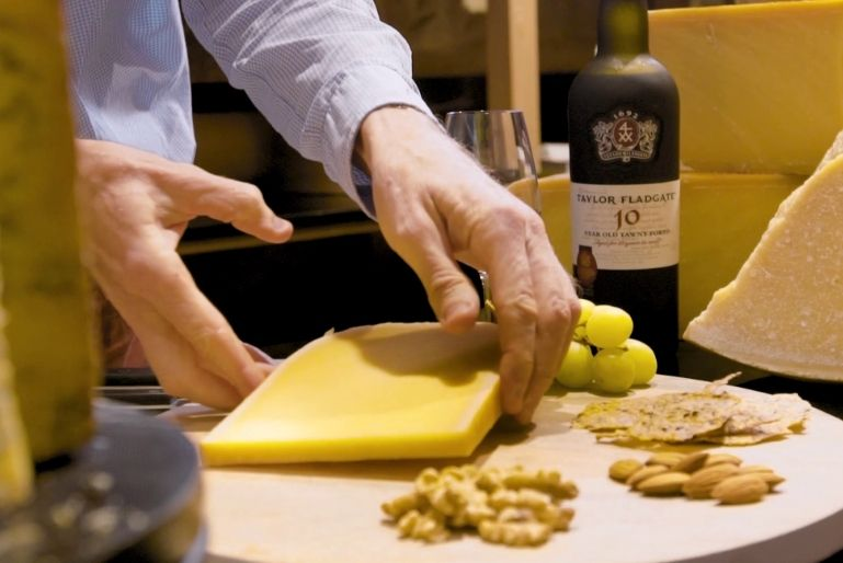 For many, Port Wine and Cheese is a match made in heaven. In this video we will explain how Taylor Fladgate10 Year Old Tawny is the perfect combination for Gouda cheese.