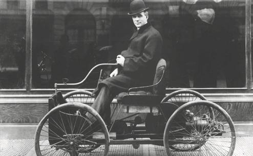 ORIGIN OF THE MODERN AUTOMOBILE