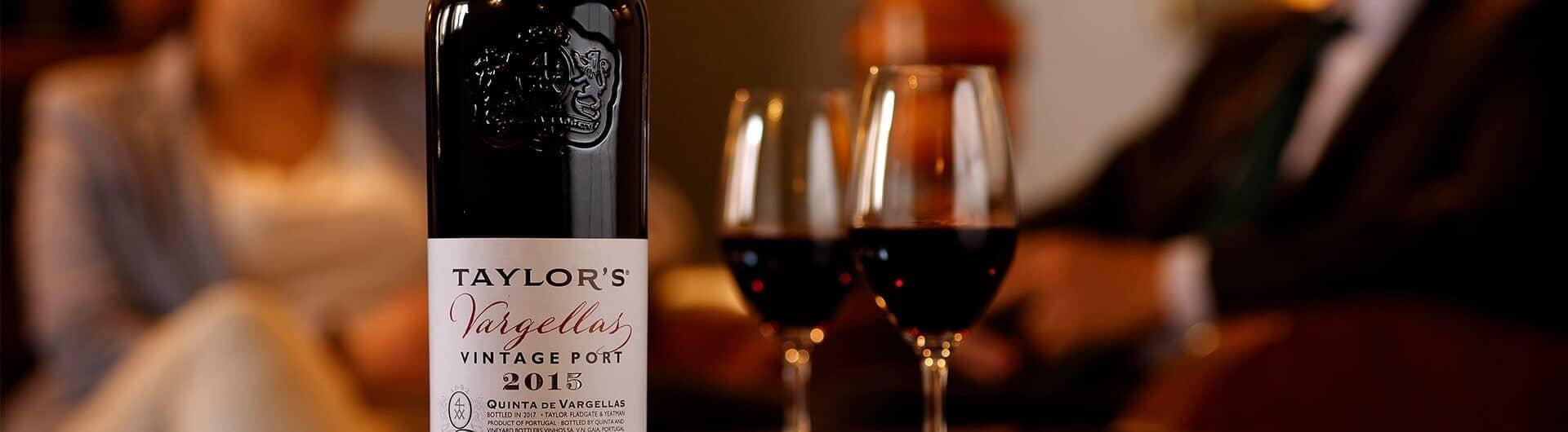 Quinta de Vargellas Vintage 2015 Port wine bottle
