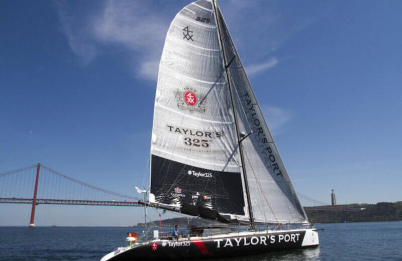 To mark Taylor's 325th anniversary, the Port house has joined forces with single-handed yachtsman and a sea ambassador, Ricardo Diniz, to re-enact Taylor's first shipment of Port.