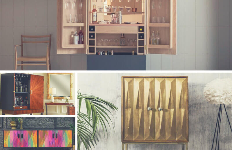 Drinks cabinets – or cellarettes – were first seen in Europe in the 15th century, having been created to provide a practical means...