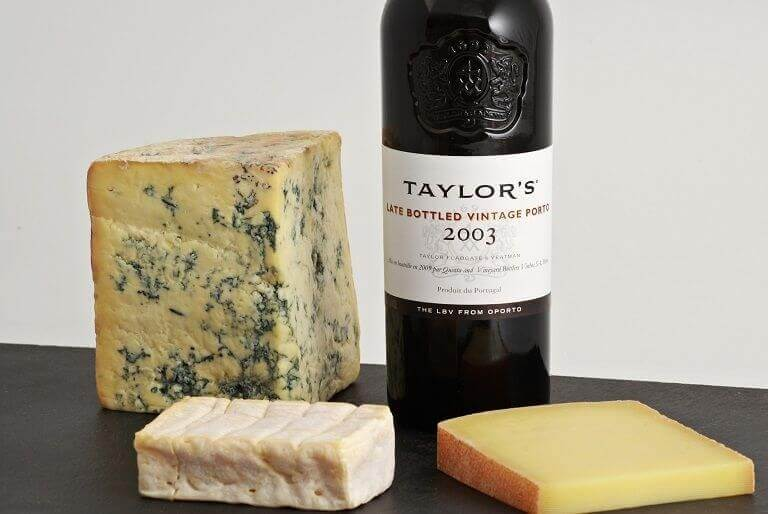 Late Bottled Vintage and Cheese - Taylor's Port