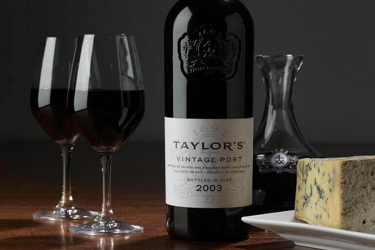 Taylor's Vintage Port and Cheeses
